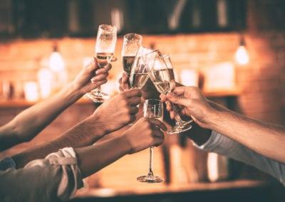 Champagnesmagning- og sabling