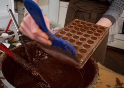 Chokoladesmagning med konfektkursus