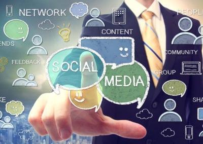 Kommunikation på sociale medier