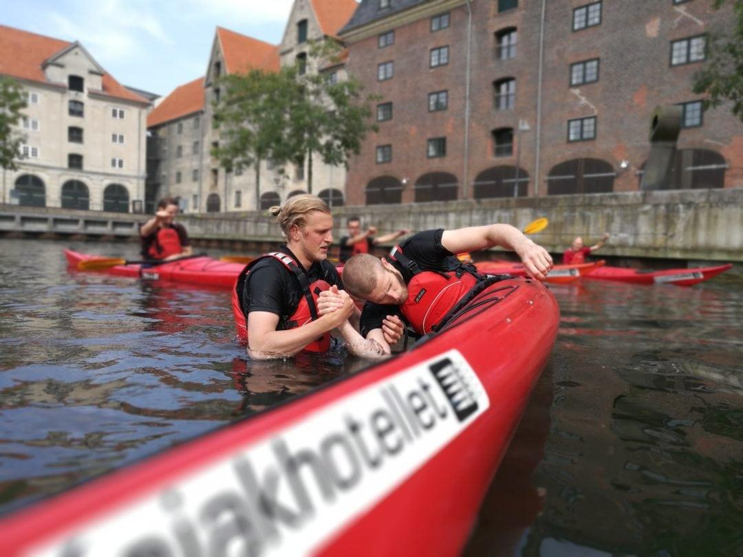 Kajak Teambuilding med KbhTeambuilding i København