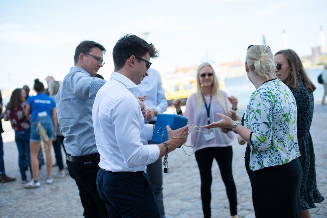 Teambuilding aktiviteter på Christianshavn med Bond