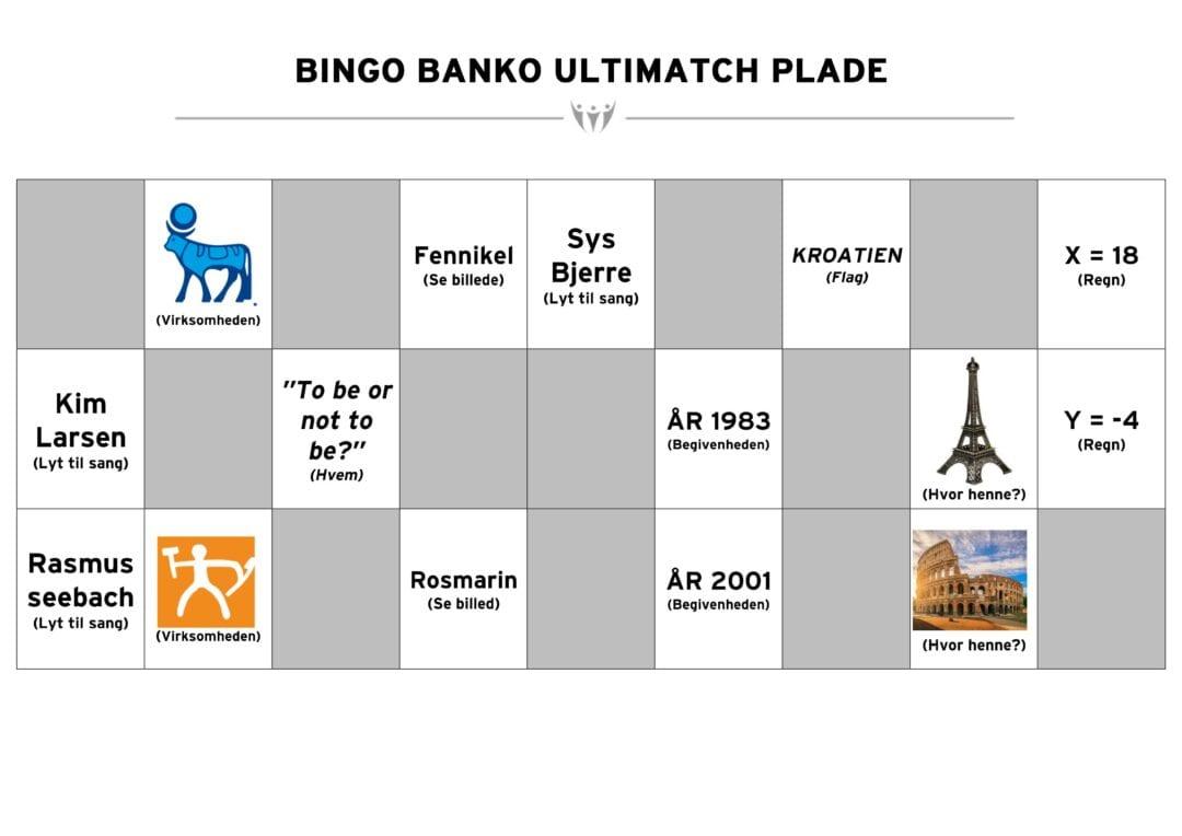 Virtel teambuilding bingo